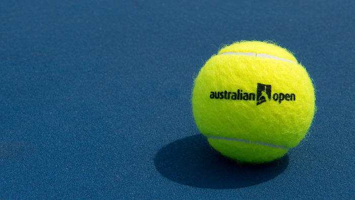 TENNIS AUSTRALIAN OPEN STOCK